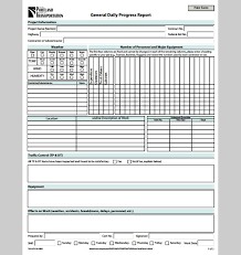 25 Daily Construction Report Template Free Download