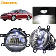2007 Toyota Camry Daytime Running Lights Us 30 95 49 Off Buildreamen2 For Toyota Camry 2006 2007 2008 2009 2010 2011 2012 Car Right Left Fog Light 4000lm Led Daytime Running Light 12v In