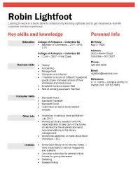 Resume For College Students Bravebtr
