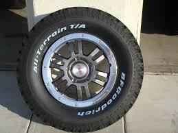 Toyota Tacoma Lug Pattern Simple Official Tundra Wheel And Tire Setups Pics And Info Toyota