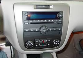 2006 2013 chevrolet impala car audio profile chevy impala factory radio