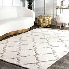 handmade trellis faux silk wool rug x 3 nuloom concentric diamond cotton