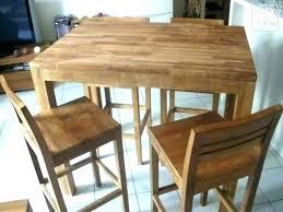 Table De Cuisine Haute Avec Tabouret Table De Cuisine Avec Tabouret
