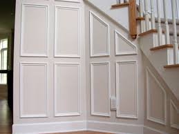 great white decorative wood trim for walls