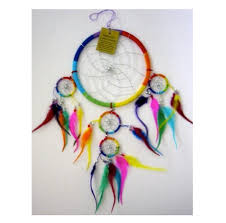 Dream Catcher Where To Buy Magnificent Rainbow Strings And Feather Dreamcatcher Dreamcatchers Pinterest