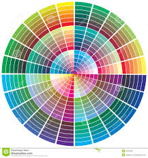 Color Wheel Chart Images