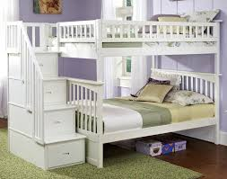 embrace loft bed with caster and left steps. jr loft bed with storage steps embrace caster and left o