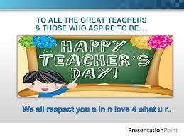 Teacher Powerpoint Best Ppt On Teachers Day