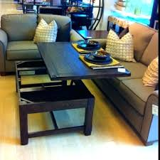 coffee table turned dining perfect turns into on that converts to uk