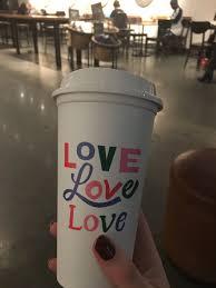 Coors Light Coffee Mug Starbucks Valentines Day Reusable Cup 2018 16 Fl Oz