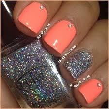 18 Fantastic Silver Nail Designs Nehticky Nägel Fingernägel A