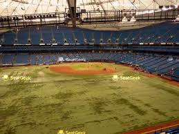 Seating Chart For Tropicana Field St Petersburg Your Ticket To Sports Concerts More Seatgeek