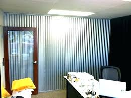 corrugated metal wall corrugated metal for interior walls metal wall panels interior decorating appealing decorative corrugated