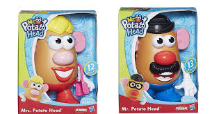 mr and mrs potato head toys. Exellent Head Amazoncom Mr Potato Head U0026 Mrs Character Bundle Collection  Toys Games And Mr Mrs