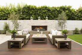 modern design outdoor furniture decorate. decorationsfabulous outdoor area decorated with furniture and stone fireplace design combined modern decorate