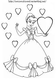 Coloriage A Imprimer Princesse Cendrillonl