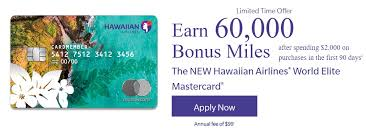 expired 60k hawaiian airlines offer 1 purchase via paper app 2k spend