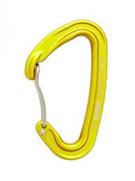 LIGHT <b>rock</b>-<b>climbing</b> carabiner with wire gate | VENTO