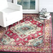 boho area rugs bohemian medallion pink multicolored distressed rug 6 7 square bohemian style area rugs