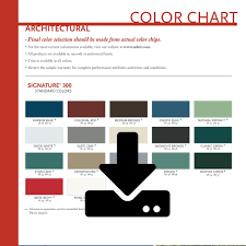 Mbci Architectural Color Chart Steve Lanning Construction Inc