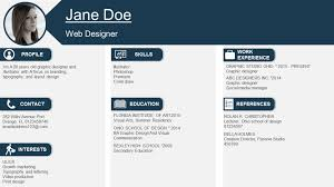 Rock That Resume! 11 Visual Resume Ppt Templates To Give You A Head ...