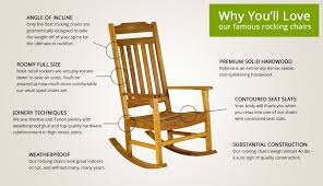 quality chairs for you. best rocking chair features quality chairs for you e