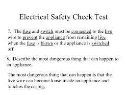 electrical safety electrical safety