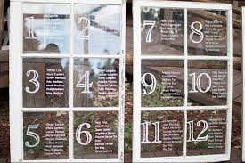 Window Pane Seating Chart In 2019 Wedding Window Seating