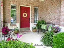 I am ready to share with you my front porch that is ready for spring and  summer.