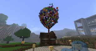 Up House Balloons Up Balloon The Ballon House From The Movie Up Minecraft Project