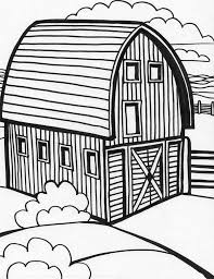 Free Printable Barn Templates Coloring Pages This Is Your Barns Of