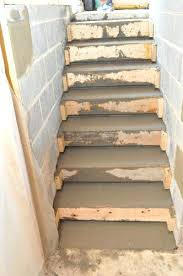 how to install indoor outdoor carpet on concrete stairs how to pour concrete stairs one project