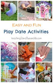 fun play date activities for preers