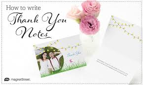 Anatomy Of How To Write A Thank You Noteanatomy Of How To Write A ...