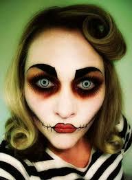 37 scary face makeup ideas rockabilly zombie