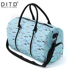 <b>Nylon Folding Travel Bag</b> Traveling Hand Luggage Waterproof ...