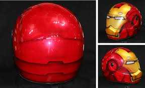 iron man airbrushed motorcycle helmet coolpile com