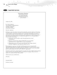 Cover Letter Leadership Example Inspirational Letter Magic