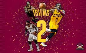cavaliers wallpaper. Perfect Cavaliers Kyrie Irving U201cAbstractu201d Wallpaper Inside Cavaliers
