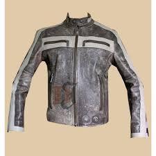 men s designer grey er biker distressed jacket grey jackets