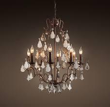 mercury glass chandelier pertaining to 26 designs 0