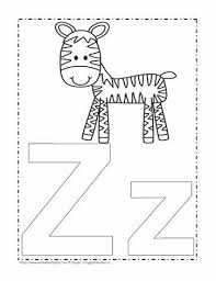 Phonics worksheets and free printable phonics workbooks for kids. The Letter Z Coloring Page Worksheets