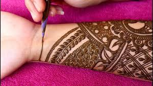 Wedding Henna Designs Simple Simple Bridal Mehndi Design For Beginners 2018
