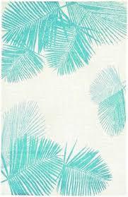 palm tree area rugs round border
