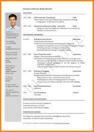 Pdf Format Resume Tomyumtumweb Com