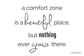 A Comfort Zone Is A Beautiful Place Quote Author Best Of Comfort Zone Quotes A Comfort Zone Is A Beautiful Place But N