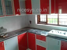 Small Picture Aluminium Fabrication Kitchen Cabinets In Kerala L Ideasidea