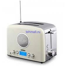 <b>Тостер Hermes</b> Technics <b>HT</b>-TO104 с радио - Купить в Москве с ...