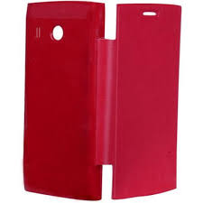 Flip Cover for Karbonn A16 - Red ...