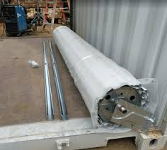 Sea container roll up door | Shipping Container roll up door kit